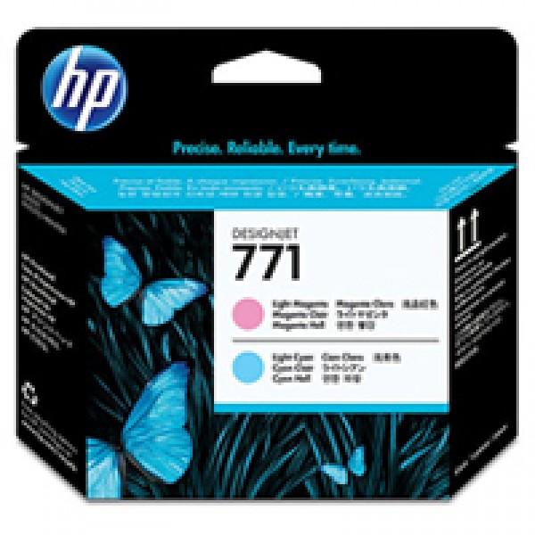 Cap de printare HP 771 Light Magenta&Light Cya...