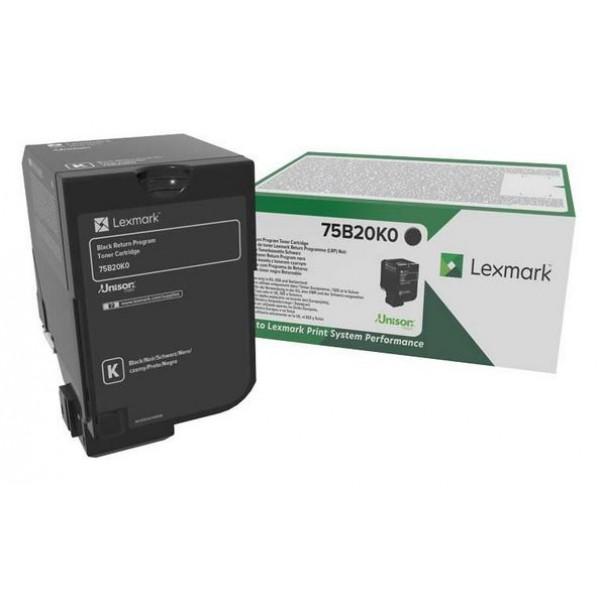 Cartus toner Lexmark Standard Black Return 75B20K0