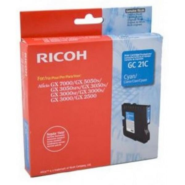 Cartus cerneala cyan Ricoh 405533 GC-21C 1k