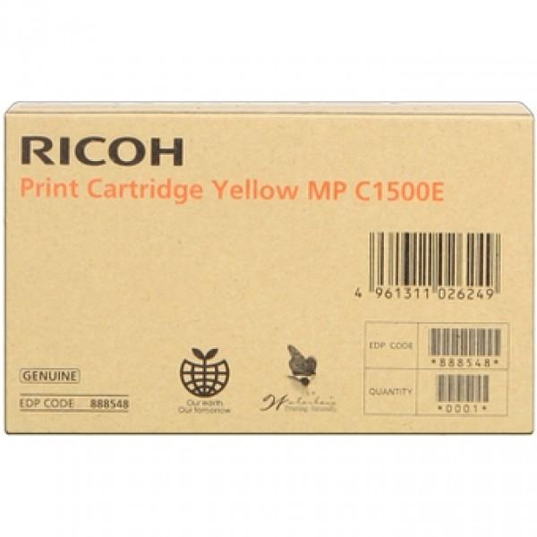 Cartus Ricoh . MPC1500SP yell yellow 888548